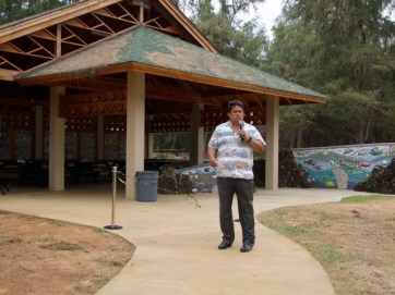 Leonard A. Rapozo, Jr., director of County Parks and Recreation Department