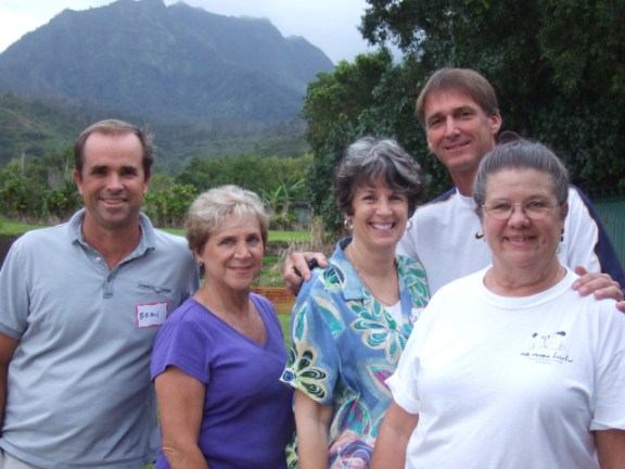 Hanalei Roads Committee members