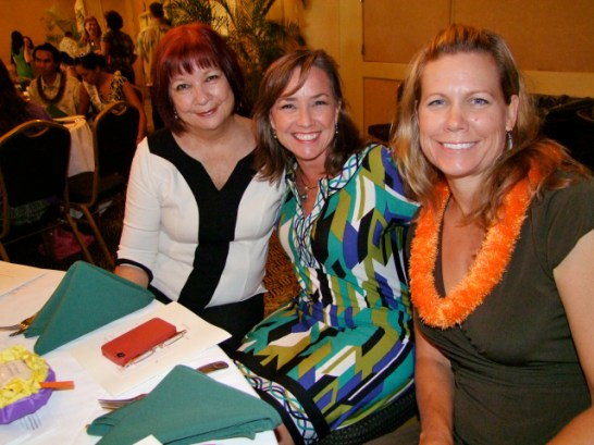 L-R: Kathy Lee-Crowell, Bridget Arumi, Monique Chow