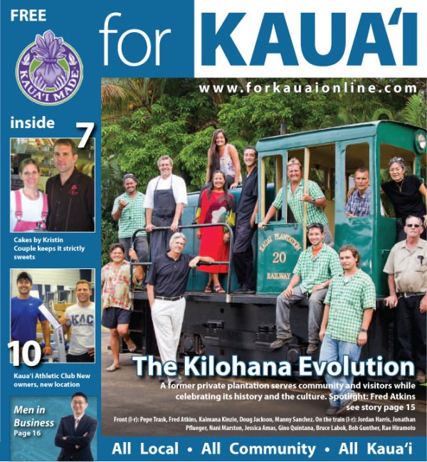 FOR KAUA`I July Issue