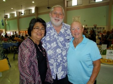 From left: Sonia Topenio, Jim Guerber, Sharron Wagner
