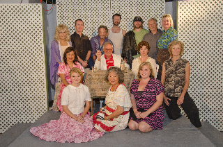 """The cast and director of """"An Evening with Tennessee Williams.Courtesy photo"""