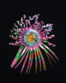 """""""If Can, Can"""" 2012 ornament made from a recycled aluminum can. Photo courtesy of Festival of Lights"""