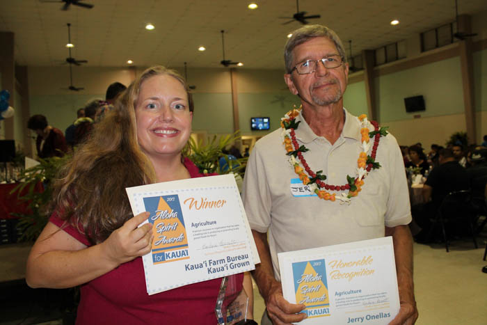 Agriculture recognition Jerry Ornellas and Melissa McFerrin