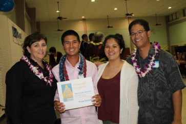 Sports Youth Advocate award to Pono Tokioka and Kevin Hanano