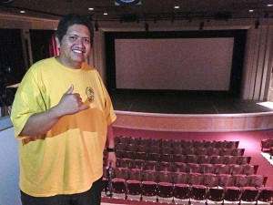 Waimea Theater manager Thomas Nizo.