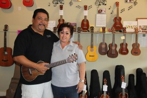 Ron Ellamar and Lawrie Woods, owners of Kaua'i Music and Strings in Kalaheo, offer music lessons to locals and visitors, layaway for new instruments, rentals, trade-ins and consignments, so everyone can afford their dream instrument — and play it too. Check them out at www.kalaheomusicandstrings.com or call 332-8302 fore more information.