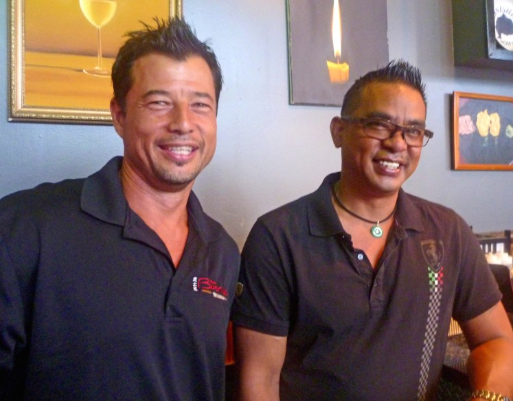 Sushi Bushido owner Victor Heresa, right, and manager Grant Holcomb invite guests to experience a non-traditional setting and unique dining experience. 'Bushido is a family restaurant and the customers are our extended family,' Holcomb said. 'Japanese culture can be austere, but we achieve an intimacy with our service and atmosphere.'