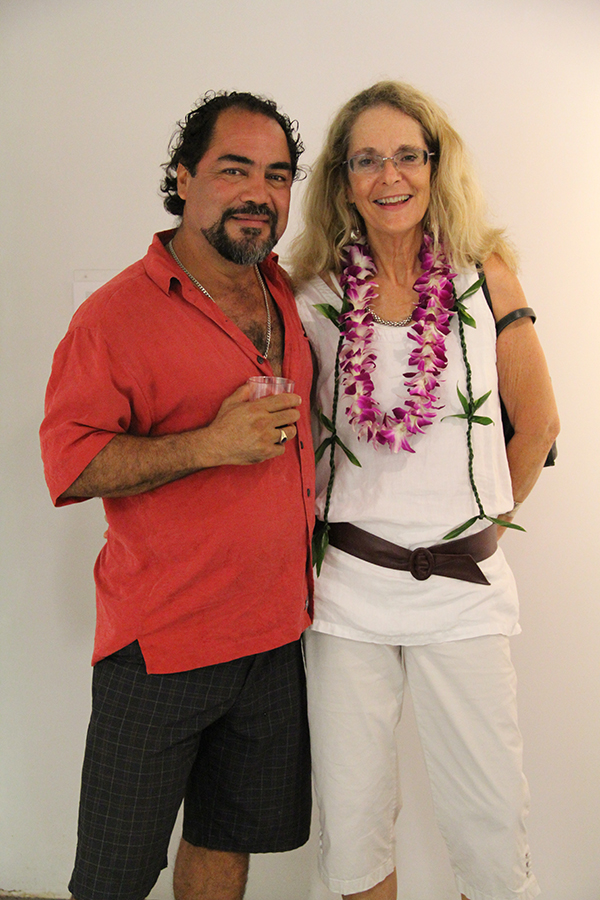 Bernardo Lizarraga, of Moloa'a, and Kimberly Blackburn, of Kapa'a.