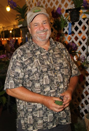 Neill Sams, owner of Orchid Alley Kaua'i.