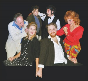 The cast of Beyond Therapy