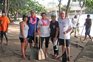 Join Pu'uwai Outrigger Canoe Club's Pink Paddlers group on Jan. 20 at 5 p.m. at Wailua River.