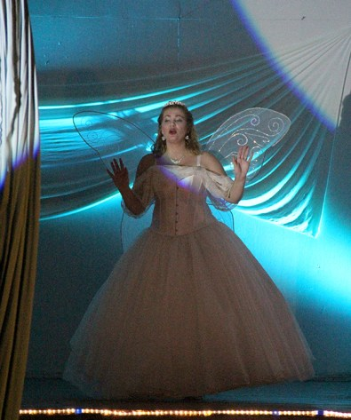 Tawna Bensaid as the Fairy.