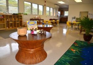 Inside the newly renovated Children Development Center.