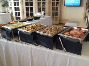 The onsite luncheon was catered by Contemporary Flavors Catering.