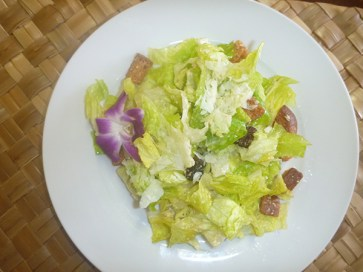 Marie created her Caesar dressing after watching someone make it at the table in a Los Angeles restaurant.