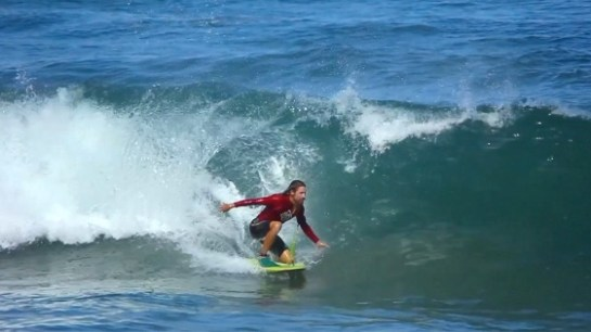 Champion Body Boarder, nominated for Best Cinematography – High School and Middle School Combined Island School