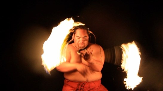 Fire Knife Dancer, nominated for Best Personal Profile, Middle School Division