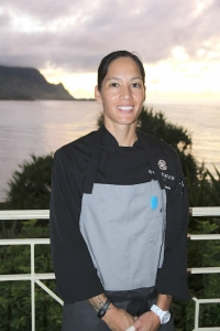 Chef Noelani Lei Planas, born and raised on Kaua'i, recently took the leadership position at Kaua'i Grill.