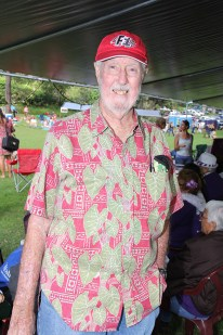 Stu Burley, of Friends of King Kaumuali'i