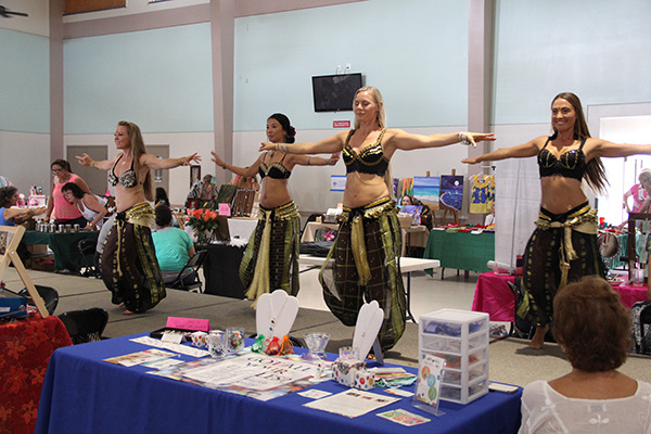 Sudeeka belly dancers at last year's event.