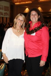 From left to right, Jerri and Lisa Arin
