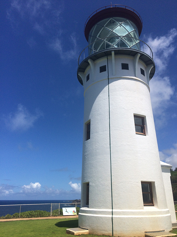 Kilauea Lighthouse. Photo by Caroline Farley