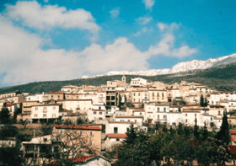 The ancestral Palumbo home is in Ofena, a small Italian village home to 650 people on the side of a mountain.