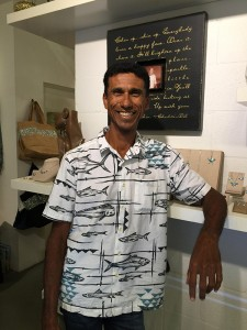 Renato DeSouza, whose wife, Marjorie, credits as her 'rock' and the reason for the success of their business, Palm Palm.