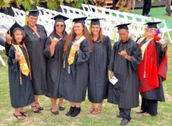 Kaua'i Community College students