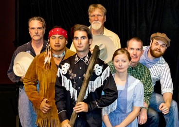 The cast of 'The Rainmaker.' This weekend will be the play's last three shows.