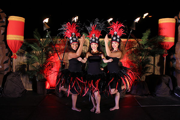 'Auli'i Lu'au by Urahutia Productions at the Sheraton Po'ipu.