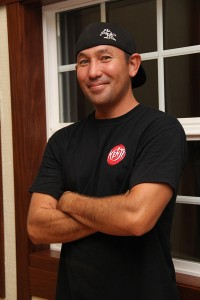 Erik Tanigawa, owner of Kenji Burger