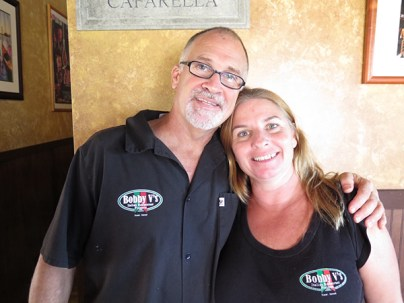 Bobby and Kristen Valenti invite you to experience their real Italian American pasta and pizzeria newly moved to the Coconut Marketplace. It's a slice, a plate and a jar of home.