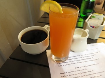 Anuenue is a non-alcoholic breakfast place, but you can enjoy Kaua'i Roastery's blends as well as fresh juices to start your day right.