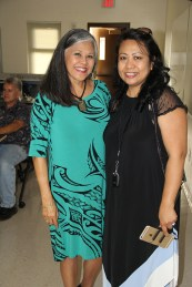 Edie Ignacio, left, and Marynel Valenzuela