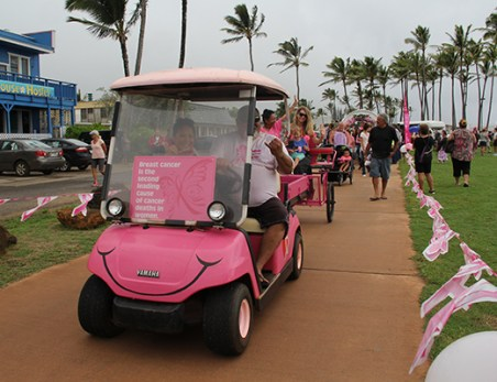 Mahelona's 5th Annual Breast Cancer Walk
