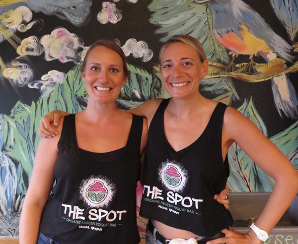 Co-owners and masterminds of The Spot in Old Kapa'a Town Nani Lane and Ellie Marcus. The best part is talking to them about the great things they do. Have a treat and have a chat!