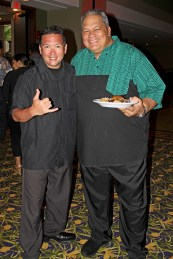 Anthony Morita, left, and Charlie Iona