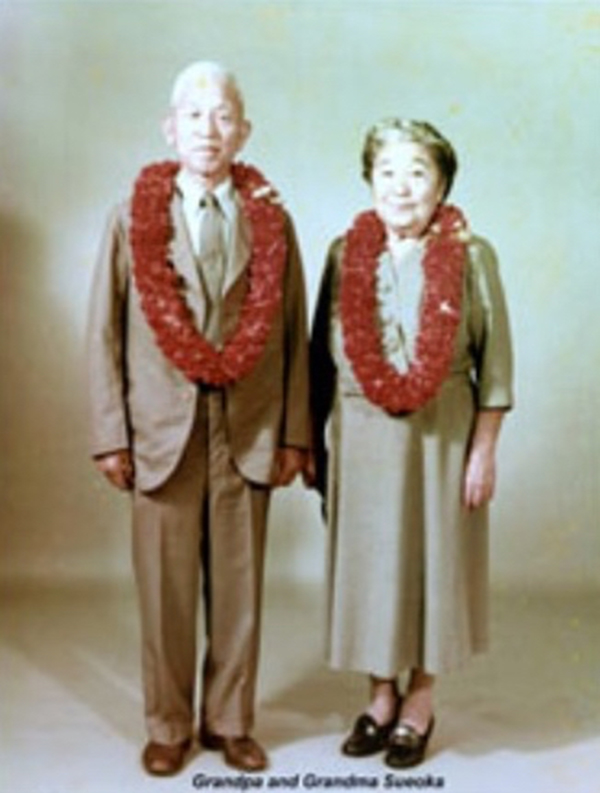 The founders of Sueoka Store, Mankichi and Yoshi Sueoka. The couple worked side-by-side. Photo courtesy of Wendy Kawaguchi