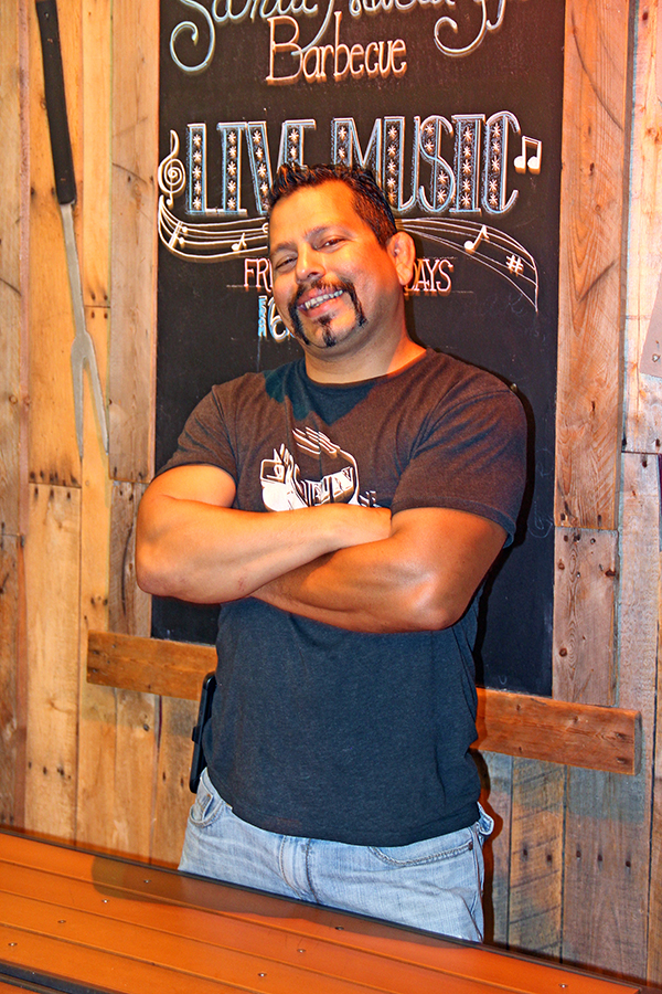 Jared Diaz holds an impressive store of barbecue knowledge, and you can hear him sing every Wednesday at Paniolo's Open Mic.