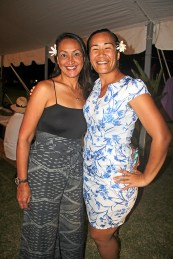 Lyanna Nakoa, left and Hina Makanani
