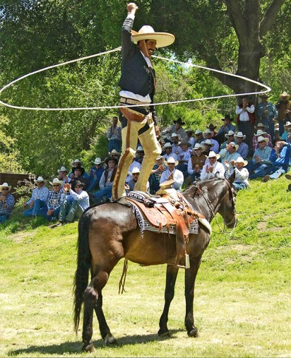 Professional cowboy Manny Rodriguez will come from the Mainland to show his roping skills at this year's Koloa Plantation Days Rodeo. Contributed photo