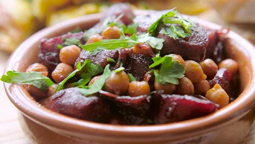 Tapas Recipe #3: Rioja Braised Chorizo with Chickpeas