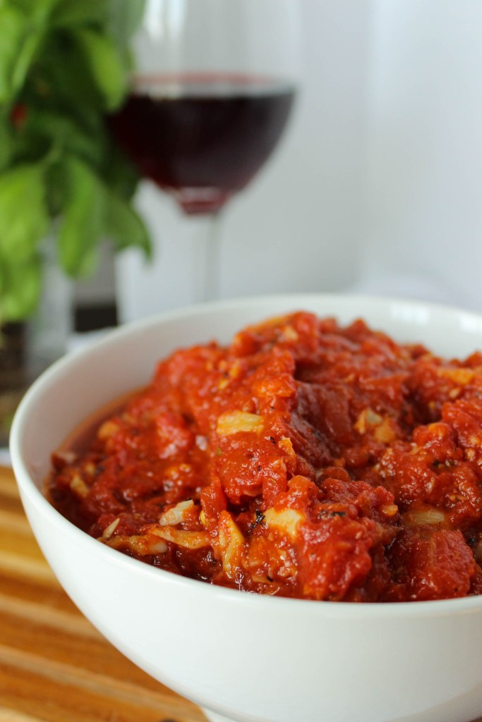 Spicy Butter-Roasted Tomato Sauce // Fork in the Kitchen
