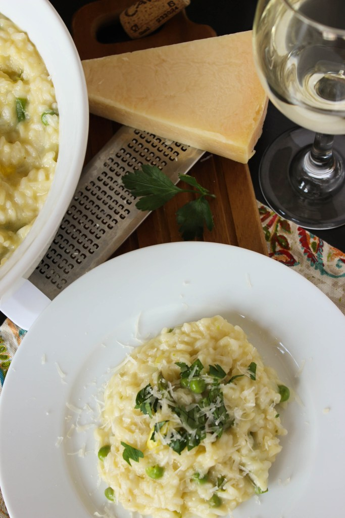 Spring Vegetable Risotto // Fork in the Kitchen