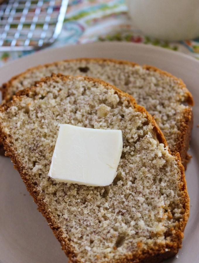 Banana Bread slice