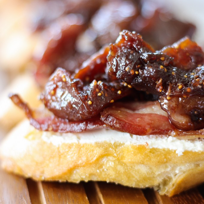 Fig Compote Crostini