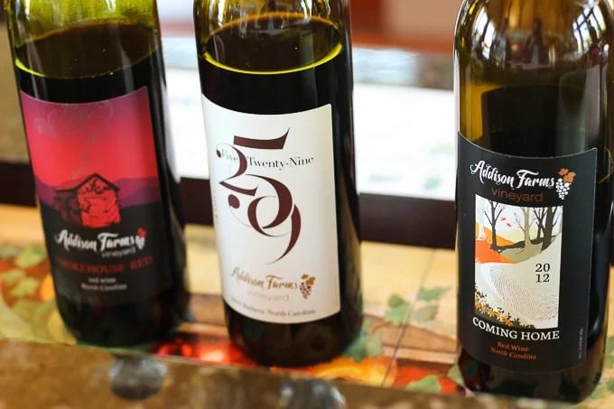 Addison Vineyards -- Asheville Travel