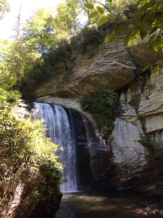 Looking Glass Waterfall - NC -- Asheville Travel